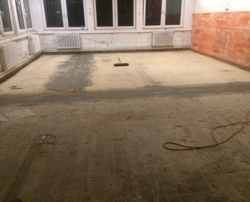 2.2.2016 vyrovnání podlahy